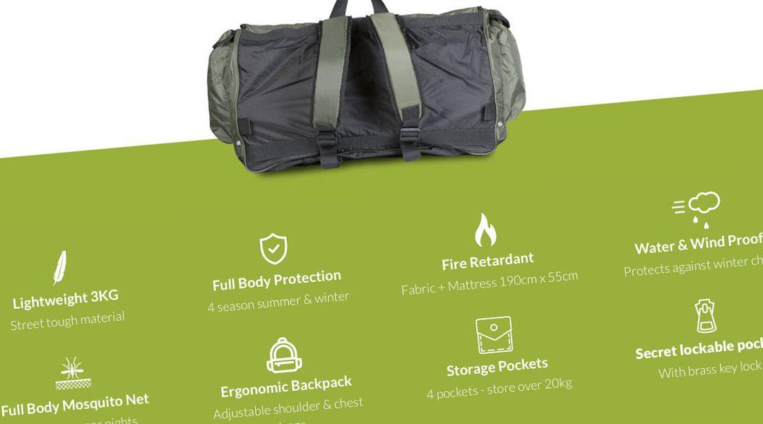 Backpack beds